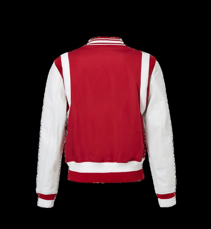MCM Men's Classic Logo Stadium Jacket MHJ8SMM33RU00L AlternateView3