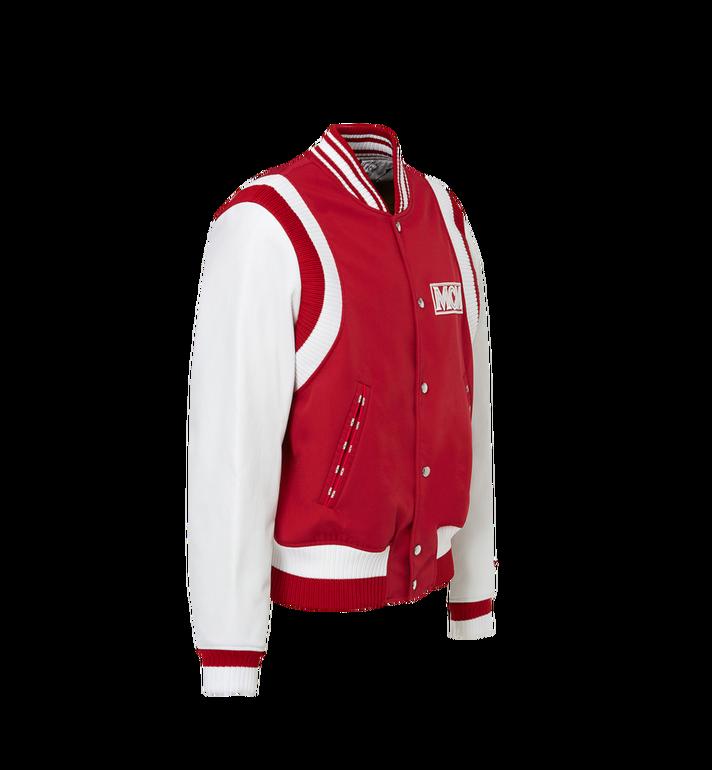 MCM Men's Classic Logo Stadium Jacket MHJ8SMM33RU00M AlternateView2