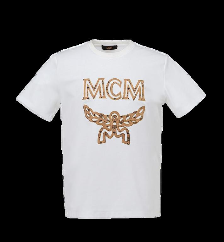 MCM T-shirt logo classique pour homme MHT7AMM01WT00L AlternateView