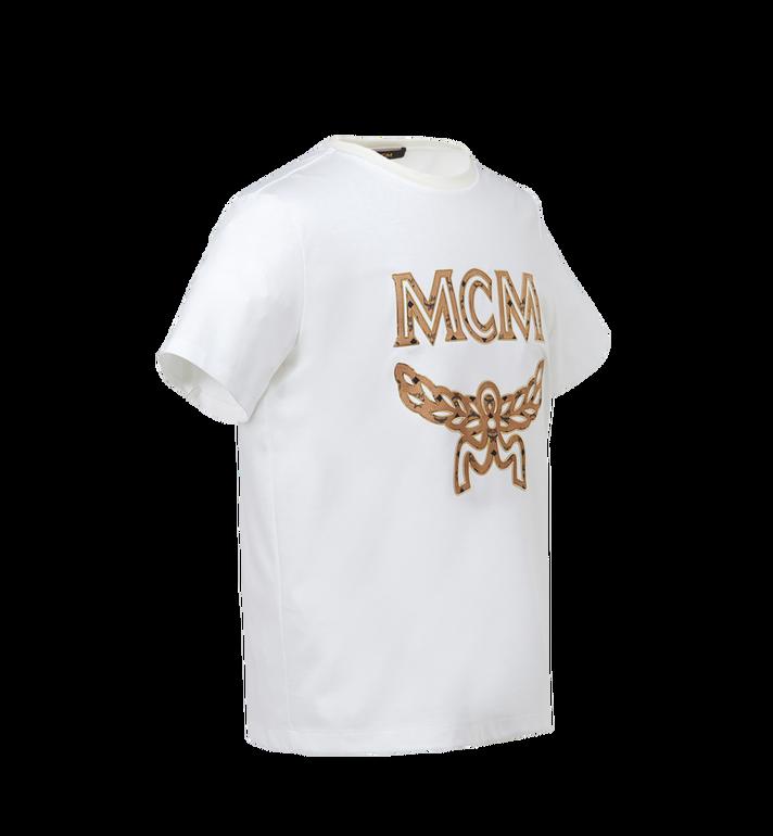 MCM T-shirt logo classique pour homme MHT7AMM01WT00L AlternateView2