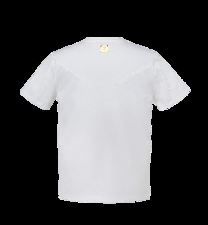 MCM T-shirt logo classique pour homme MHT7AMM01WT00L AlternateView3