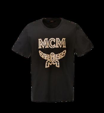 MCM Men's Logo T-Shirt MHT8SMM10BK00L AlternateView