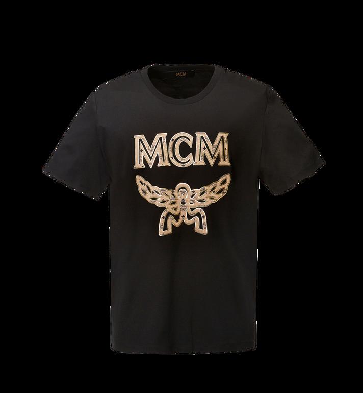 MCM Men's Classic Logo T-Shirt MHT8SMM10BK0XL AlternateView