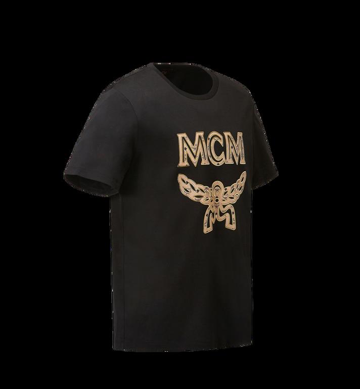 MCM Men's Classic Logo T-Shirt MHT8SMM10BK0XL AlternateView2