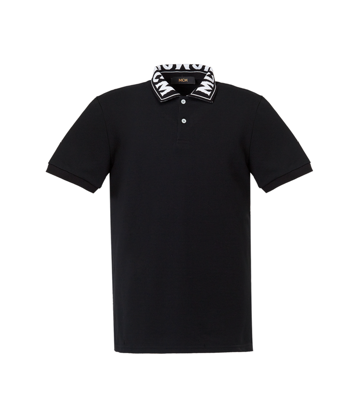 MCM Herren Poloshirt mit Logo MHT8SMM25BK00M AlternateView