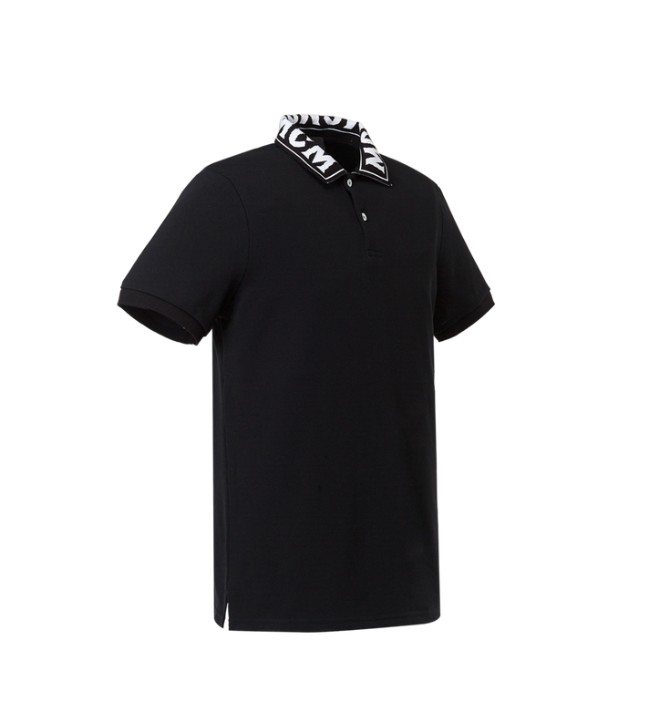 MCM Herren Poloshirt mit Logo MHT8SMM25BK00M AlternateView2