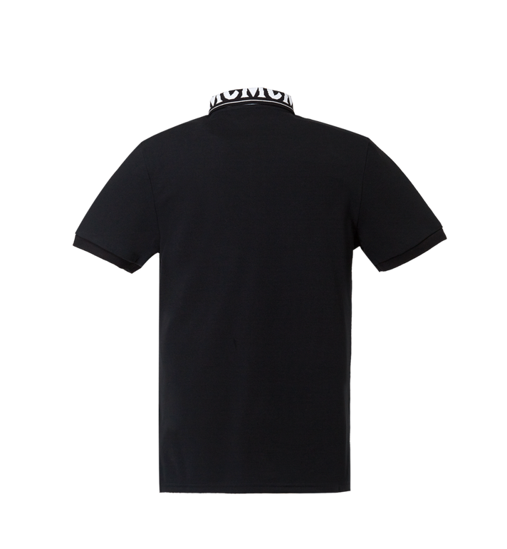 MCM Herren Poloshirt mit Logo MHT8SMM25BK00M AlternateView3