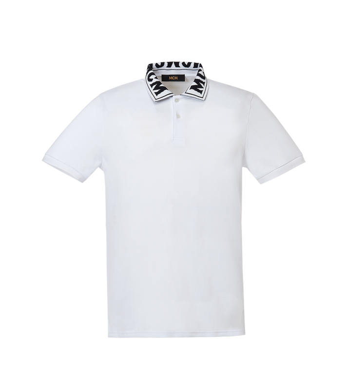 MCM Men's Logo Polo MHT8SMM25WI00M AlternateView