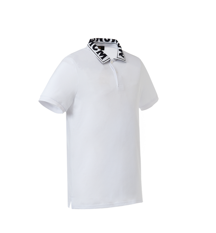MCM Men's Logo Polo MHT8SMM25WI00M AlternateView2