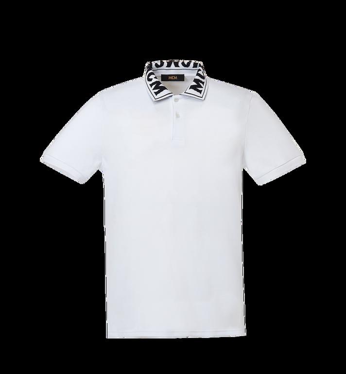 MCM 男士徽标 Polo 衫 MHT8SMM25WI00S AlternateView