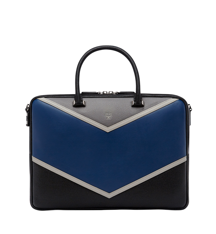 MCM Ottomar Briefcase in Chevron Leather MMF8SOT37VA001 AlternateView