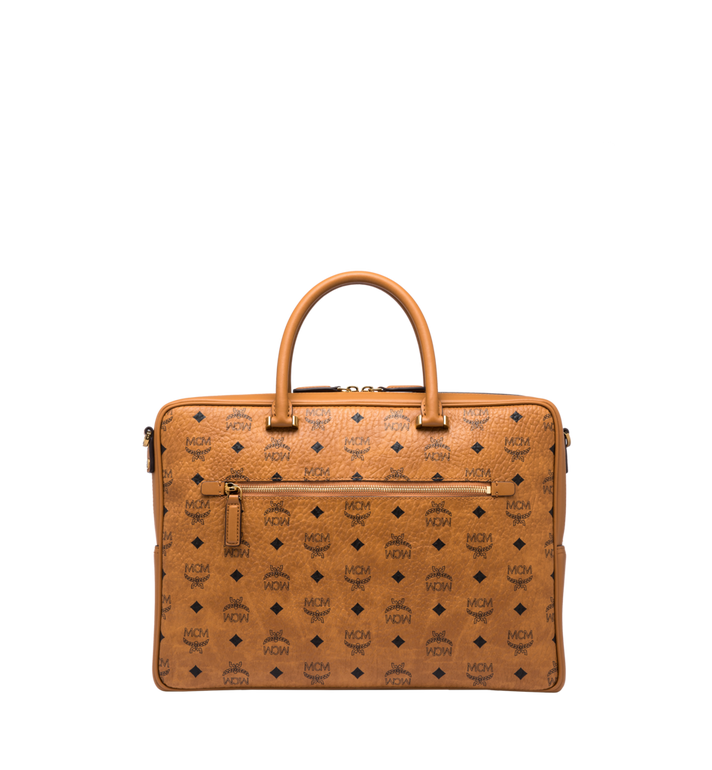 MCM Ottomar Briefcase in Visetos MMF8SOT44CO001 AlternateView