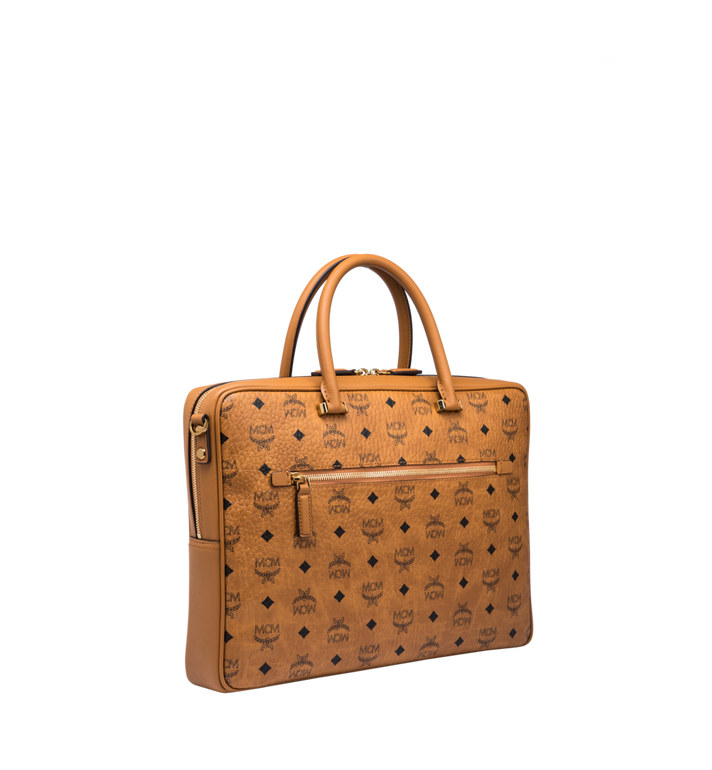 MCM Ottomar Briefcase in Visetos MMF8SOT44CO001 AlternateView2