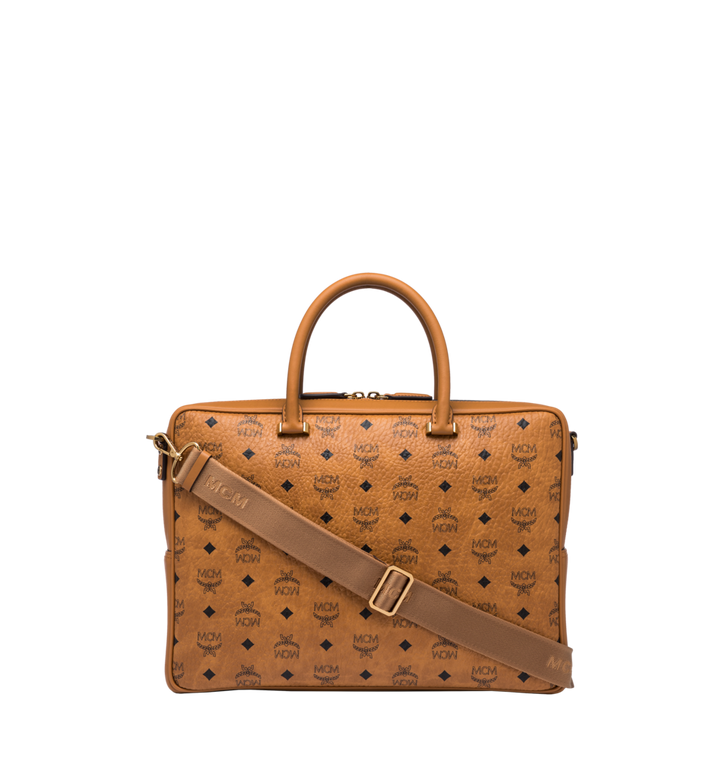 MCM Ottomar Briefcase in Visetos MMF8SOT44CO001 AlternateView4