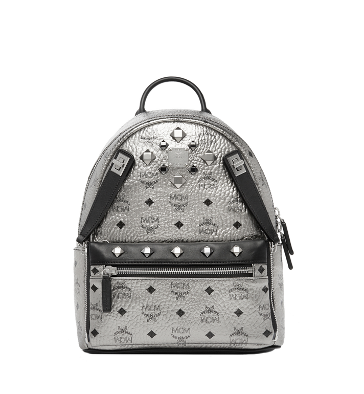 MCM Dual Stark Backpack in Visetos MMK6AVE14SV001 AlternateView