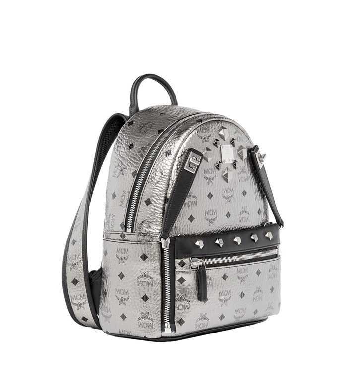 MCM Dual Stark Backpack in Visetos MMK6AVE14SV001 AlternateView2