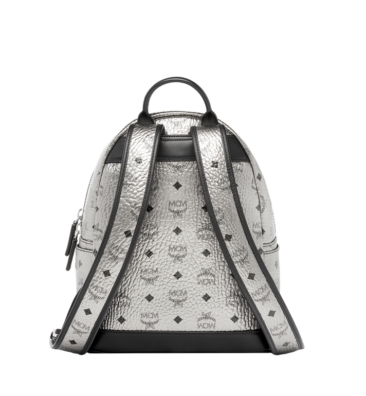 MCM Dual Stark Backpack in Visetos MMK6AVE14SV001 AlternateView4