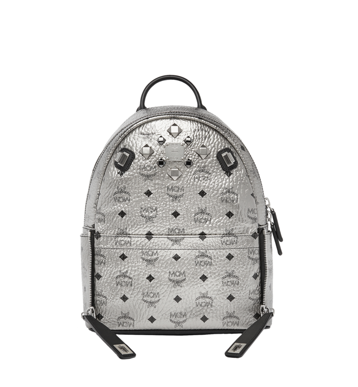 MCM Dual Stark Backpack in Visetos MMK6AVE14SV001 AlternateView5
