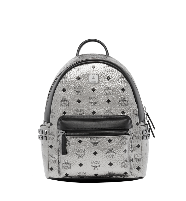 MCM Stark Side Studs Rucksack in Visetos MMK6AVE43SV001 AlternateView1