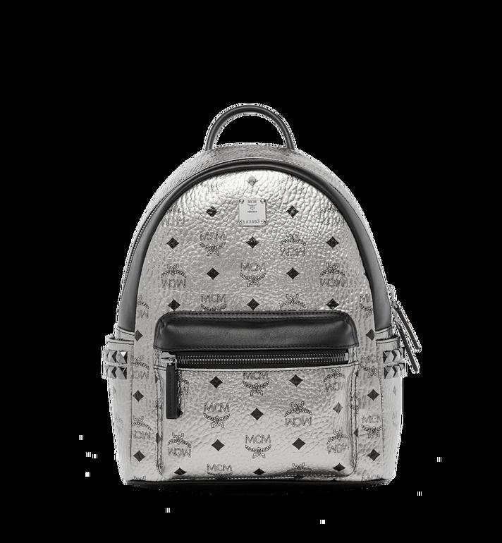 MCM Stark Side Studs Backpack in Visetos MMK6AVE43SV001 AlternateView