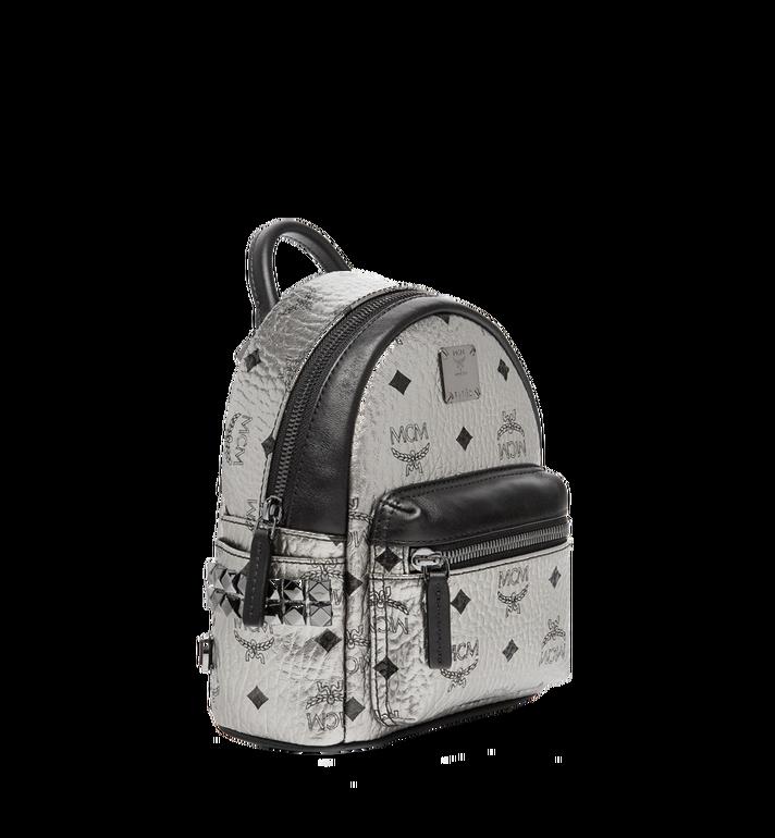 MCM Stark Side Studs Bebe Boo Backpack in Visetos MMK6AVE50SV001 AlternateView2