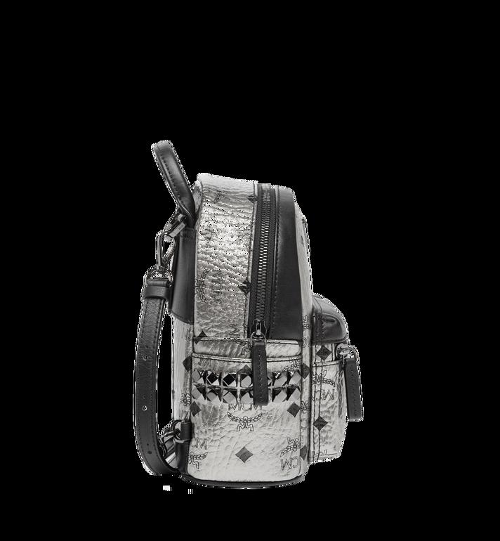MCM Stark Side Studs Bebe Boo Backpack in Visetos MMK6AVE50SV001 AlternateView3