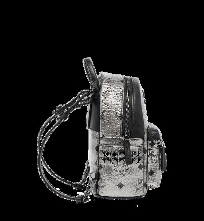 MCM Stark Side Studs Bebe Boo Backpack in Visetos MMK6AVE50SV001 AlternateView4