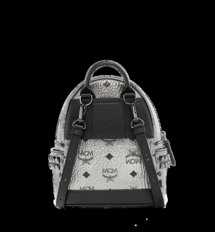 MCM Stark Side Studs Bebe Boo Backpack in Visetos MMK6AVE50SV001 AlternateView5