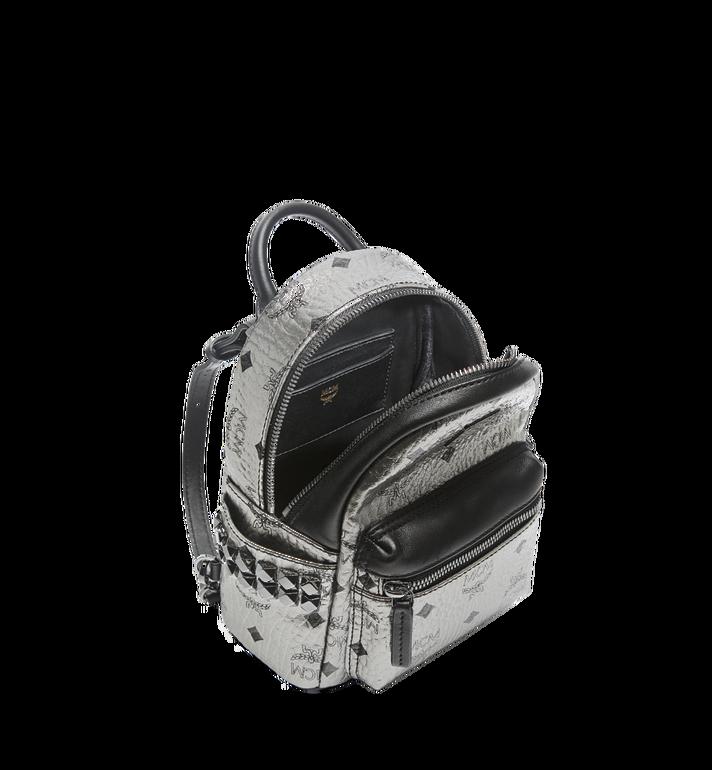 MCM Stark Side Studs Bebe Boo Backpack in Visetos MMK6AVE50SV001 AlternateView7