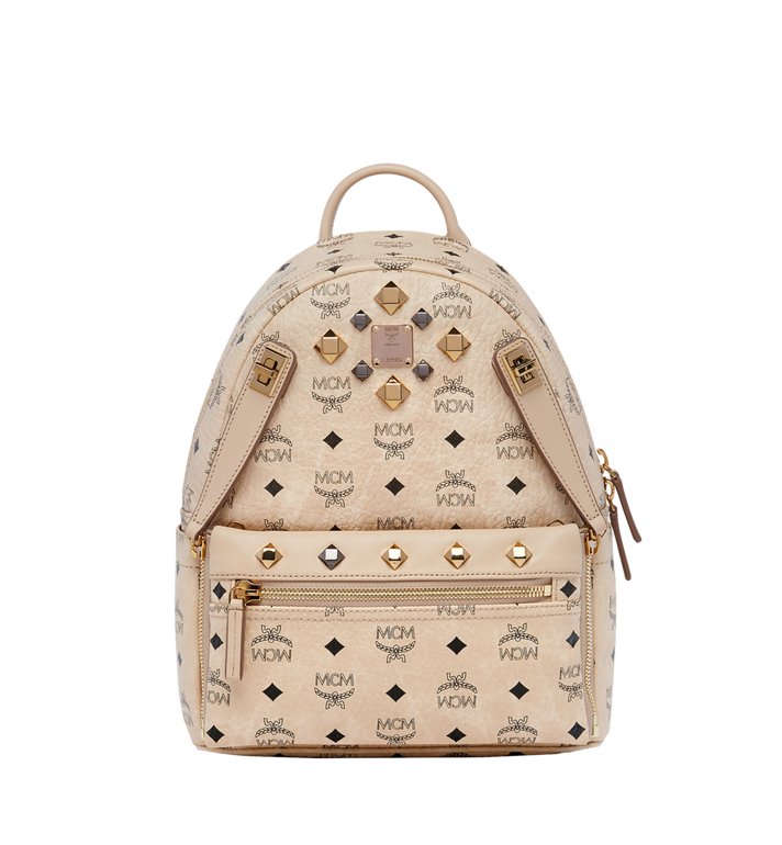 MCM Dual Stark Rucksack in Visetos MMK6AVE80IG001 AlternateView