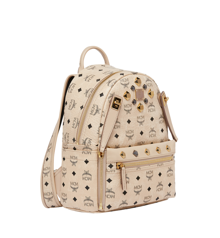 MCM Dual Stark Rucksack in Visetos MMK6AVE80IG001 AlternateView2