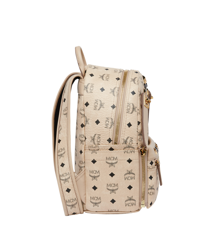 MCM Dual Stark Backpack in Visetos MMK6AVE80IG001 AlternateView3