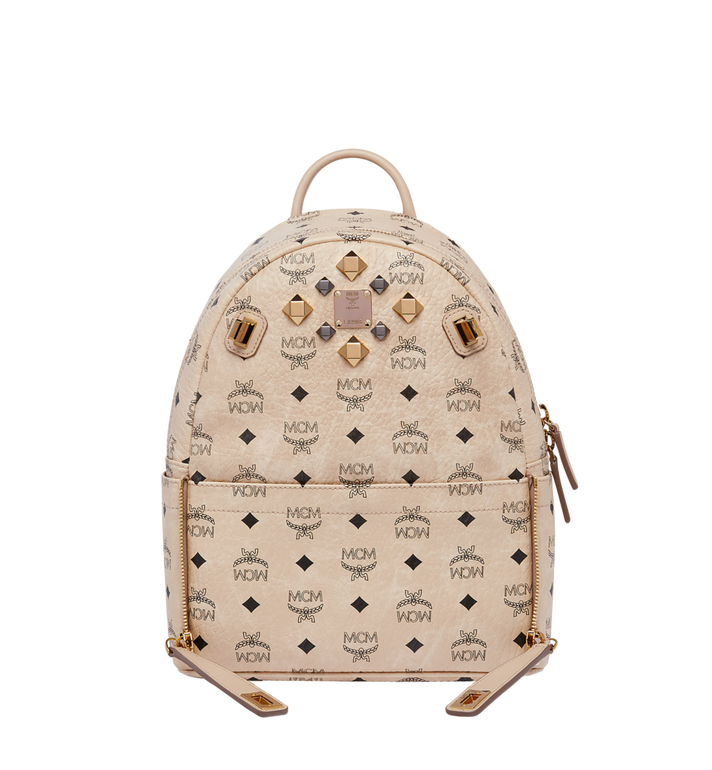 MCM Dual Stark Backpack in Visetos MMK6AVE80IG001 AlternateView5