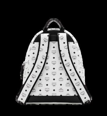 MCM Stark M Studs Backpack In Visetos MMK6SVE18WT001 AlternateView4
