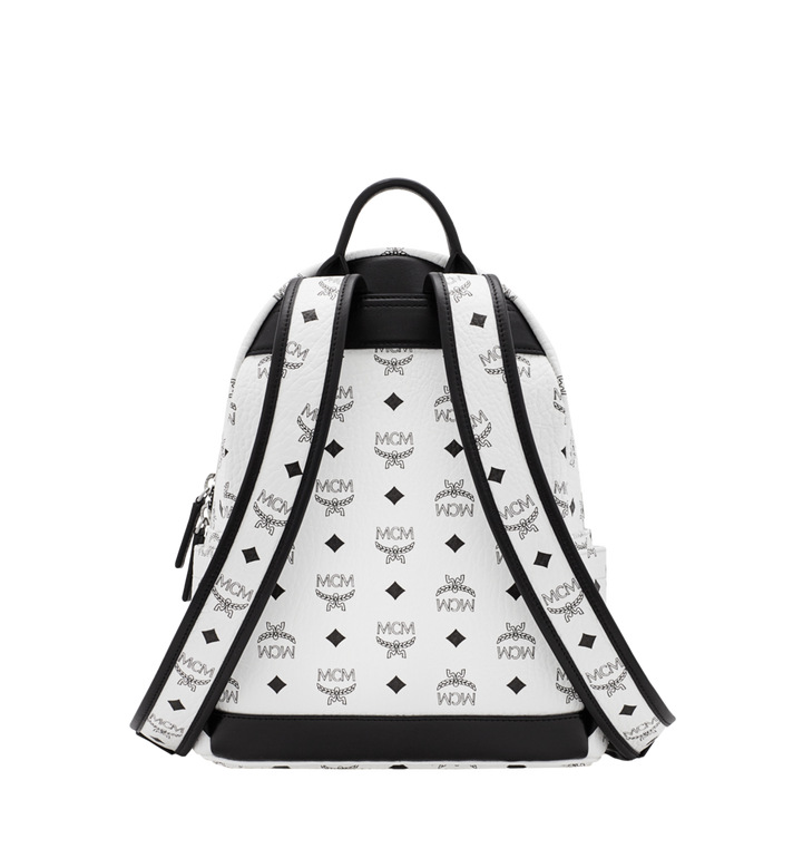 MCM Stark M Studs Rucksack in Visetos MMK6SVE19WT001 AlternateView4