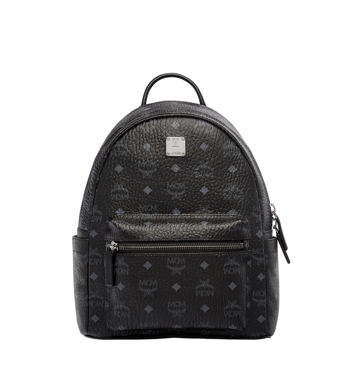 MCM Stark Classic Backpack in Visetos MMK6SVE26BK001 AlternateView