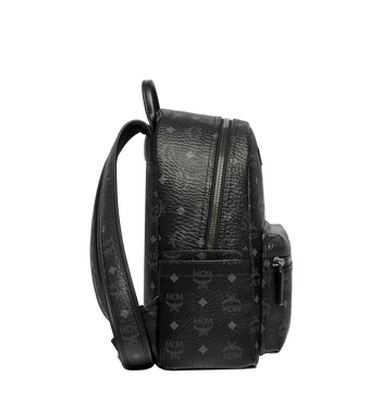 MCM Stark Classic Backpack in Visetos MMK6SVE26BK001 AlternateView3