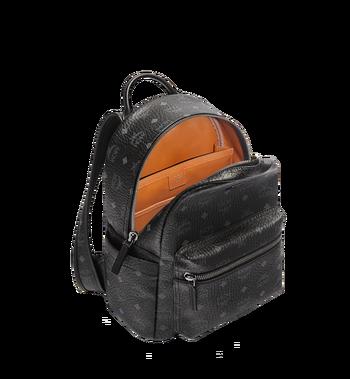 MCM Stark Classic Backpack in Visetos MMK6SVE26BK001 AlternateView5