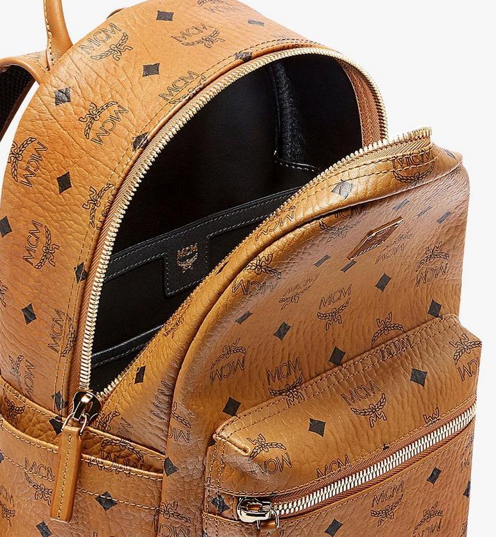 MCM Stark Classic Backpack in Visetos MMK6SVE26CO001 AlternateView5