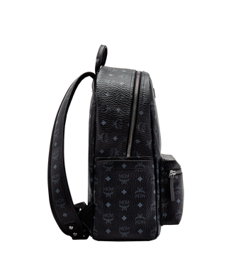 MCM Stark Classic Backpack in Visetos MMK6SVE28BK001 AlternateView3