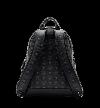 MCM Stark Classic Backpack in Visetos MMK6SVE28BK001 AlternateView4