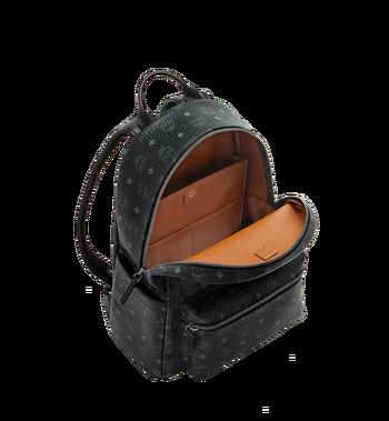MCM Stark Classic Backpack in Visetos MMK6SVE28BK001 AlternateView5