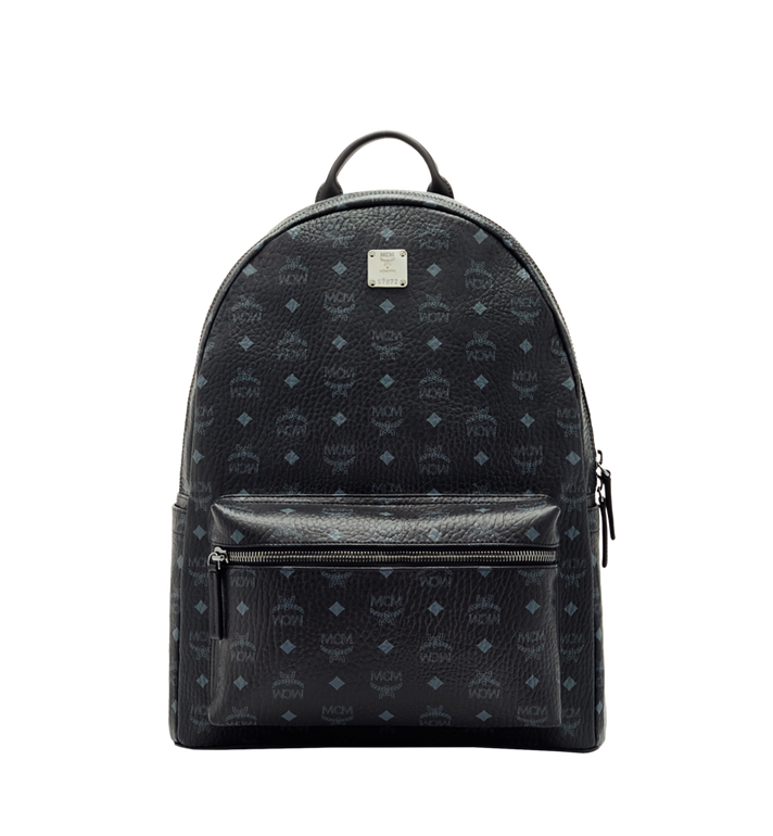 MCM Stark Classic Backpack in Visetos MMK6SVE29BK001 AlternateView