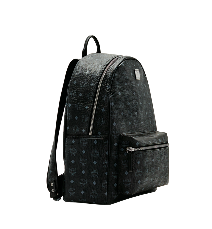 MCM Stark Classic Backpack in Visetos MMK6SVE29BK001 AlternateView2