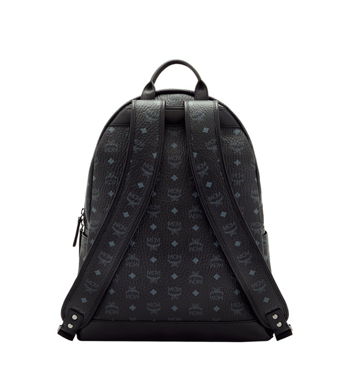MCM Stark Classic Backpack in Visetos MMK6SVE29BK001 AlternateView4