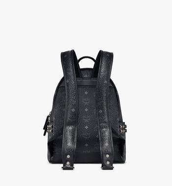 MCM Stark Side Studs Backpack in Visetos MMK6SVE37BK001 AlternateView4
