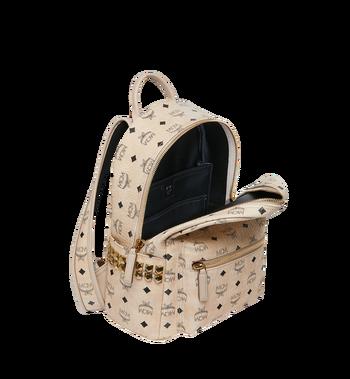 MCM Stark Side Studs Backpack in Visetos MMK6SVE37IG001 AlternateView5