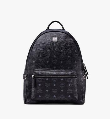 MCM Stark Side Studs Backpack in Visetos MMK6SVE38BK001 AlternateView