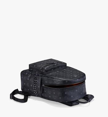 MCM Stark Side Studs Backpack in Visetos MMK6SVE38BK001 AlternateView3