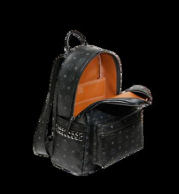 MCM Stark Side Studs Backpack in Visetos MMK6SVE38BK001 AlternateView5